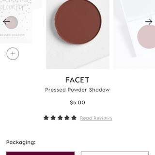 Colourpop pressed eyeshadow