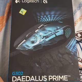 Moba gaming mouse logitech g 302 daedalus prime