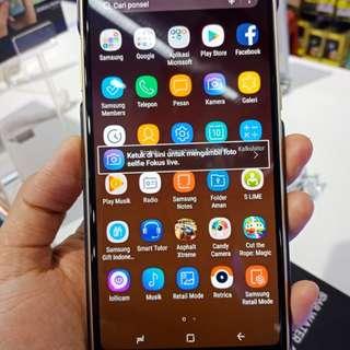 Samsung a8+ bsa di kredit