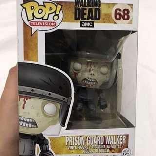 The Walking Dead Prison Guard Walker Funko Pop