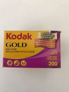 Kodak gold 200 exp film