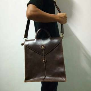 Leather Tote,messenger, backpack Bag