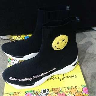 SMILEY x House of avenues 鞋 橡筋鞋