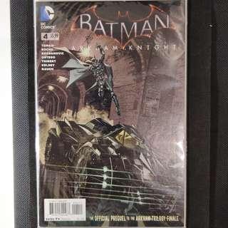 Batman Arkham Knight #4 Comic Book