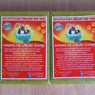 Madre de Cacao Organic Dog Soap