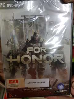 For Honor PC CD ROM