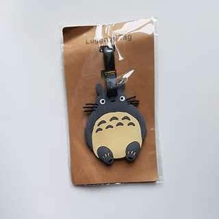 Totoro Luggage Tag