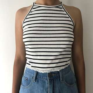 stripey top - Small