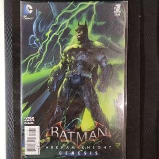 Batman Arkham Knight Genesis #1 Comic