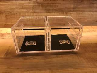 Transparent Cosmetic Storage Drawers