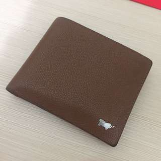 Braun Buffel wallet - Brown