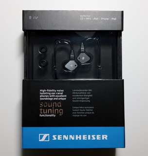 Sennheiser IE80 In Ear Audiophile earphone