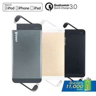 Xpower PB7Q quick charge 11000mAh Gold