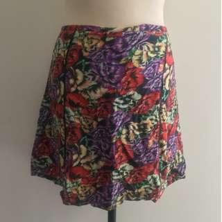 MinkPink Floral Skirt (Size L)
