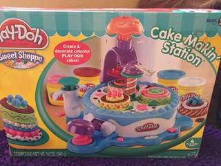 Play Doh Cake Making Station