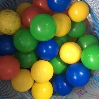 Plastic Balls FREE Playtents