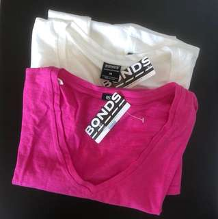 BNWT Bonds 2xT-shirts - Sz M