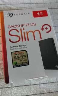 Seagate external hard disk 1TB