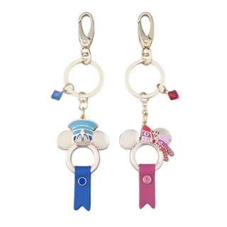 Tokyo Disneysea Disneyland Disney Resorts Sea Land 35th Anniversary Happiest Celebration Mickey Minnie Mouse Keychain Set Preorder