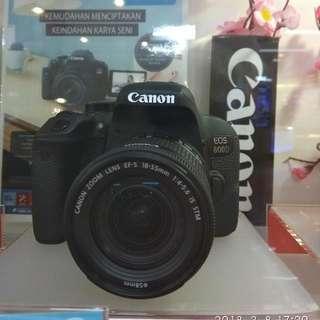 Canon Eos 800D Dp 0% Cukup Admin 199.000 Cicilan Tanpa CC