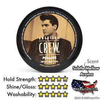 (Free mail) American Crew Pomade 85g