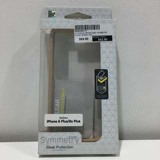 OtterBox Symmetry iPhone 6/6s Plus Case: (Clear Tan)