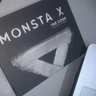 MONSTA X THE CODE PT VER