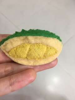 Offer!! Handmade Mini felt durian