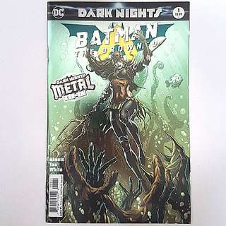 DC Comics Dark Nights Metal Tie-In One Shot  Batman The Drowned Near Mint Condition First Print