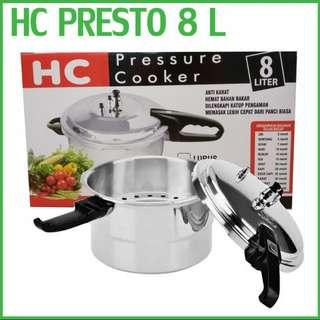 presto 8 liter pressure cooker