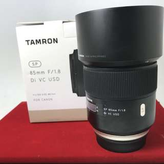 Tamron 85mm F1.8 VC Canon
