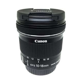 Canon 10-18mm f4.5-5.6 IS STM EF-S Lens *Brand New*