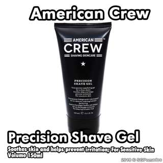 🚚 (Free Mail) American Crew Precision Shave Gel 150ml