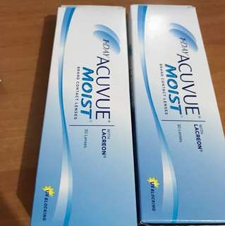 1 • DAY ACUVUE® MOIST®隱形眼鏡