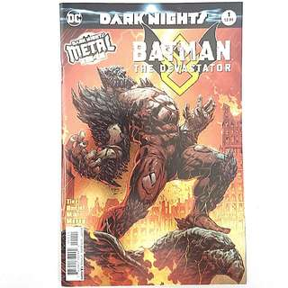 DC Comics Dark Nights Metal Tie-In Batman the Devastator Near Mint Condition First Print