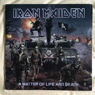 Iron Maiden - A Matter of Life & Death Limited Edition Picture Discs