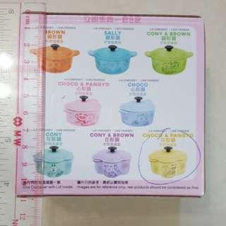 7-11 choco & pangyo 花形鍋