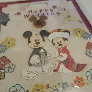 Mickey and mini stickers