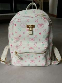Samantha Vega Colour Monogram print Backpack