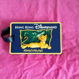 Luggage Tag (Disneyland)