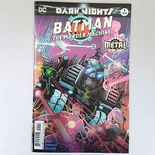 DC Comics Dark Nights Metal Tie-In One Shot Batman Murder Machine Near Mint Condition First Print