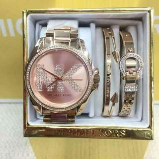 Michael Kors Watch with bangles