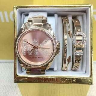 Michael Kors Watch with bangles