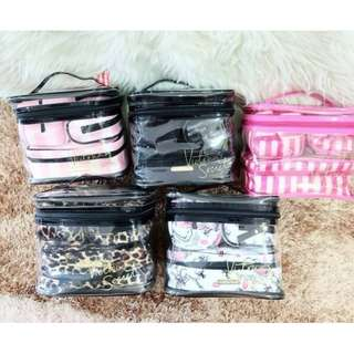 Victoria Secret Make Up Pouch 4 in 1