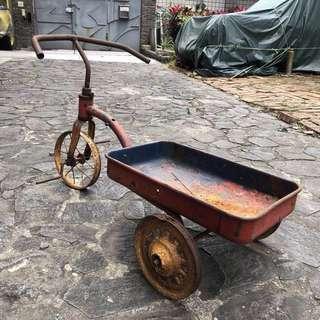 古董 玩具腳踏車