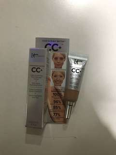 It Cosmetics CC+ Color Correcting Full Coverage Cream + Anti-Aging Hydrating Serum