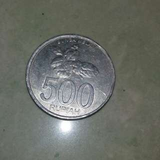 Old Coins (indonesian 500 rupiah)