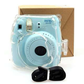 Instax mini 8 / 9 crystal clear case *NEW*