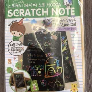 Scratch Notebook