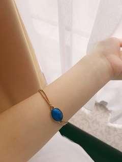 Zodiac pearl bracelet (virgo)